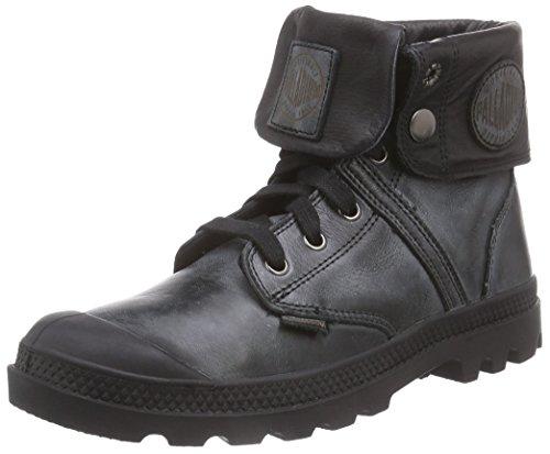 Palladium Pallabrouse Baggy L2 - Stivali Desert a gamba alta in pelle da donna, nero (black 001), 37