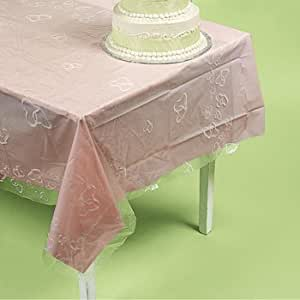 Two Hearts-Printed Banquet Roll - Party Tableware & Table Covers