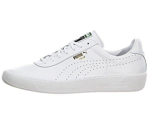 PUMA Men's Star Sneaker, White, 11 M US