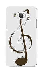 KnapCase Music Note Designer 3D Printed Case Cover For Samsung Galaxy Grand Prime