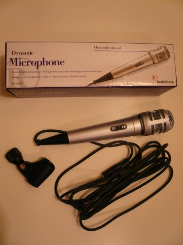 Radio Shack Dynamic Omnidirectional Microphone
