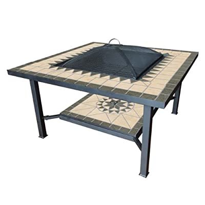 Benross Gardenkraft 19740 30-inch Garden Table With Fire Pit Centre by Benross Marketing Ltd