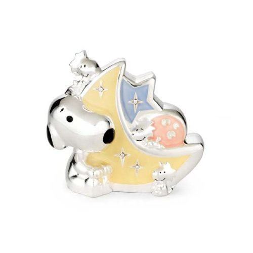 Lenox Baby Snoopy Silverplated Bank - 1