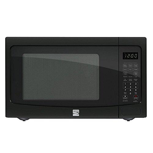 Kenmore 1.2 cu. ft. Countertop Microwave EZ Clean Interior Black 72129 ...