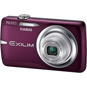 Casio Exilim EX-Z550 14.1 Megapixel Compact Camera - Red. EXILIM EX-Z550 RED 14 MP 2.7IN LCD 4X ULTRA WIDE ZOOM IS CAMERA. 2.7' LCD - 4x Optical Zoom - 4320 x 3240 Image - 1280 x 720 Video - Motion JPEG (AVI)