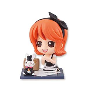 One Piece Big in Japan - Petit Chara Land - Tea Party Figur: Nami 6 cm
