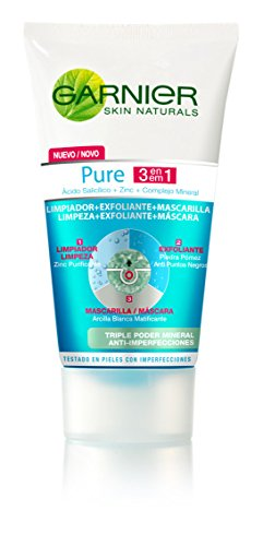 Garnier Struccante, Pure Active 3-In-1 Cleansing Gel, 150 ml