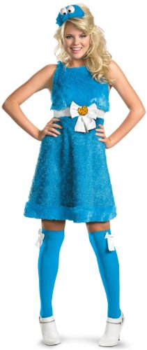 Disguise Inc - Sesame Street - Cookie Monster Sassy Female Adult Costume