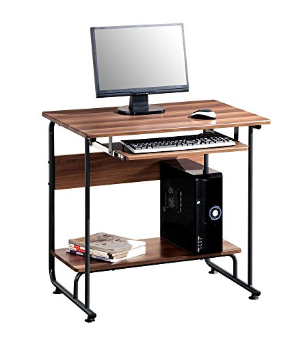 modern small pc computer desk with keyboard tray make great compact desks for home office small. Black Bedroom Furniture Sets. Home Design Ideas