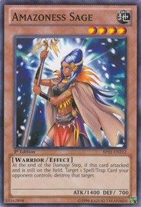 遊戯王カード Amazoness Sage/アマゾネスの賢者 BP01-EN212SF