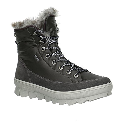 GORE-TEX Boots 37 38 38,5 39 40 41 grigio rivestimento caldo avvio Legero , Damen Größen:38.5;Farben:grau