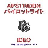 IDEC (アイデック/和泉電機) APNE116DNA Φ30 シリーズ パイロットライト LED照光 (丸形) (琥珀) NN