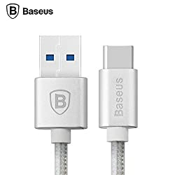 Baseus MFI metal lightening Data/Charging cable for iphone 6/6s/5/5s/ipad-(Apple Mfi Certified)-Silver