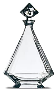 Peugeot 230203 12.75 Inch Angulo Lead Crystal Decanter