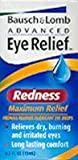 Bausch & Lomb Advanced Eye Relief Maximum Redness Reliver 15 ml (3-Pack)