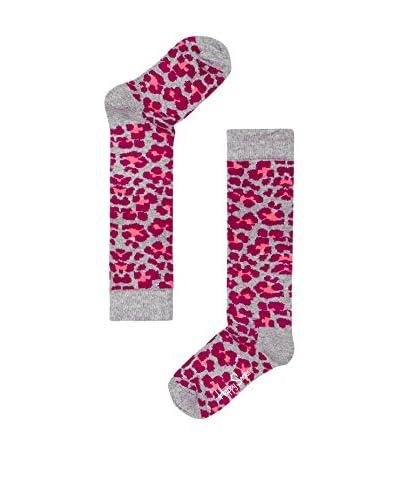 Happy Socks Kid's Animal Print Knee Socks