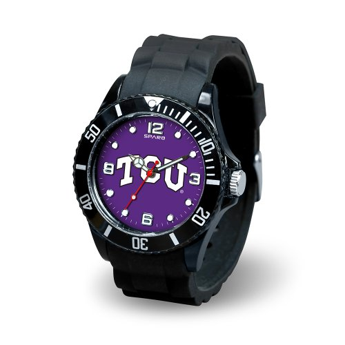 Ncaa Tcu Horned Frogs Spirit Watch, Black