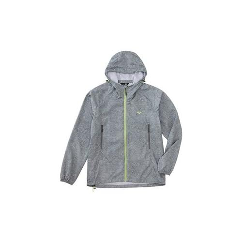 (ミズノ)MIZUNO(ミズノ) メランジプリント トレイルジャケット [メンズ] A2JE5101 06 グレー杢 L