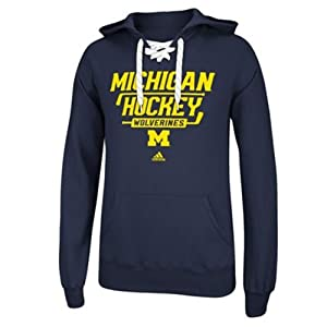 Adidas Michigan Wolverines Adult Stickshot Hooded Sweatshirt by adidas