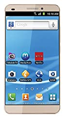 BRIA Energy Sistem New HD 5 Inch Dual-SIM 16GB 3G Android 5.1 Phone in Gold Colour