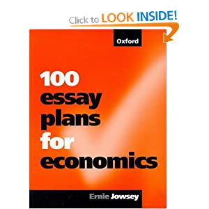 the economics of the outdoors essay Browse through our free education essays essay: needs the economic factor material things such as education in the early years for children and outdoor play.