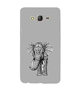 EPICCASE ash elephant Mobile Back Case Cover For Samsung Galaxy On5 (Designer Case)