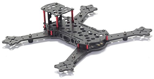 Usmile 3K Carbon Fiber 250mm miniquad, integrated PDB Quadcopter Frame