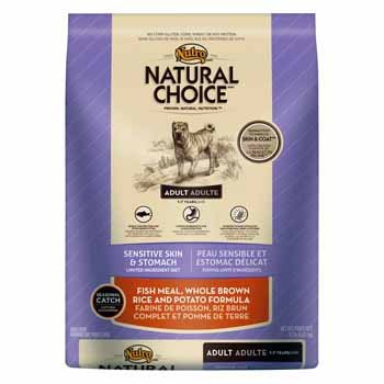Natural Choice Adult Fish Meal Whole Brown Rice & Potato - 15 Lbs