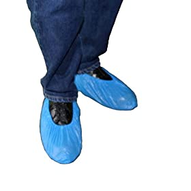 ENVIROGUARD Enviroguard Polypropylene Standard Shoe Cover, Disposable, Blue, Universal (Case of 300)