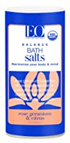EO Bath House Bath Salts Rose Geranium   Citrus 22-Ounce