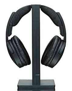 Sony MDRRF985RK Wireless RF Headphone, Black