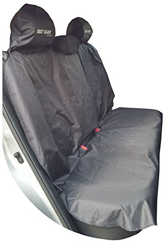 seat saver back seat bench waterproof removable universal car seat cover easy on and off. Black Bedroom Furniture Sets. Home Design Ideas