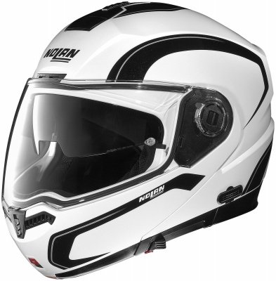 Nolan N104 Action Helmet , Distinct Name: Action White/Silver/Black, Primary Color: White, Helmet Type: Modular Helmets, Helmet Category: Street, Size: 2XS, Gender: Mens/Unisex N145273530219 (Nolan N104 Modular compare prices)