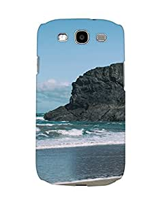 Mobifry Back case cover for Samsung I9300 Galaxy S III Mobile ( Printed design)