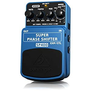 Behringer SP400 Super Phase Shifter Ultimate Phase Shifter Effects Pedal