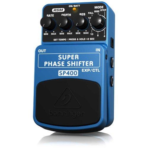 Behringer Sp400 Super Phase Shifter Ultimate Phase Shifter Effects Pedal