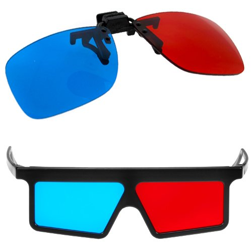 GTMax 2x Red and Cyan Glasses Fits over Most