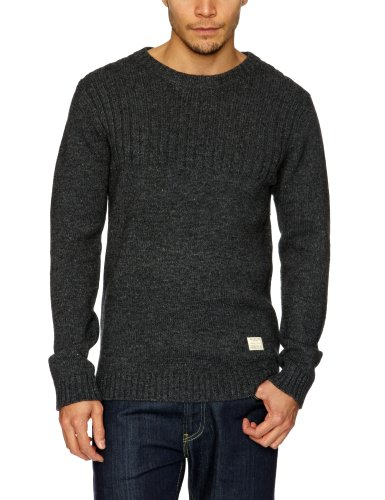 Selected Homme Jeans Carroll Crew Neck J Men's Jumper Antrasit Melange Medium