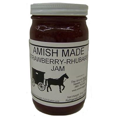 Amish Jam - 8 Oz Jar - Qty 3 by Arndt's Fudgery, LLC DBA The Amish Buggy