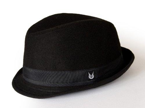 Hambrook Black Trilby Hat (56cm) images
