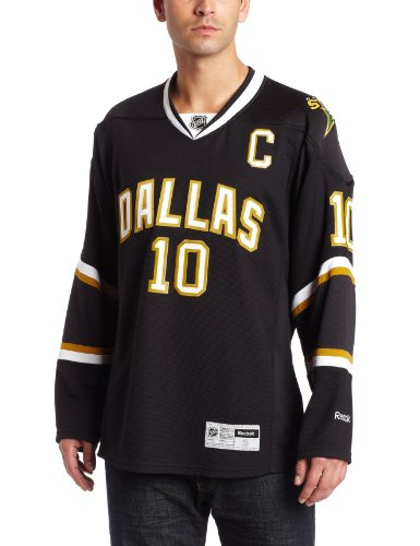 NHL Men's Dallas Stars #10 Brenden Morrow Reebok Edge Premier Player Jersey (Black, XX-Large)