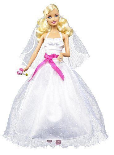 Barbie I Can Be Bride Doll by Mattel (English Manual)