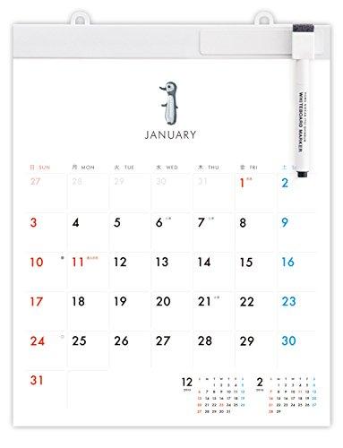 ほぼ日 ホワイトボード カレンダー 2016ミディアム