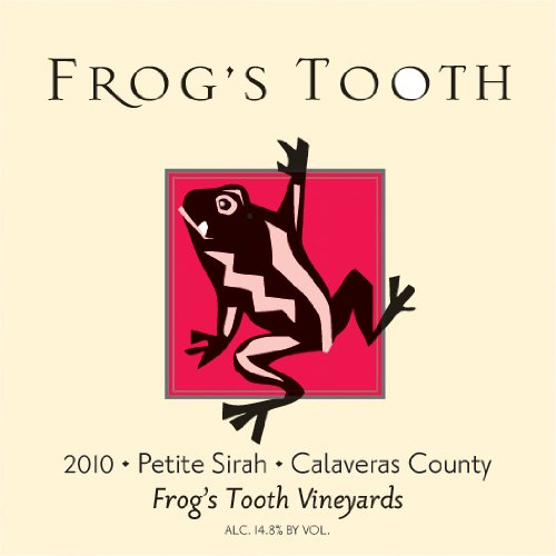 2010 Frog'S Tooth Calaveras County Petite Sirah 750 Ml