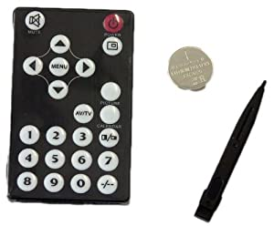 Spare Lilliput Remote Control with Numeric Keypad
