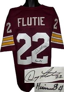 Doug Flutie Autographed Jersey - Maroon Custom Heisman 84 JSA Hologram - Autographed... by Sports+Memorabilia