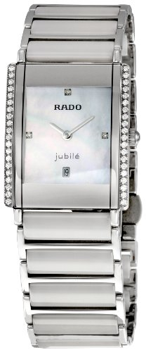 Rado Women's RADO-R20429902 Integral White Mother-Of-Pearl Watch