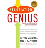 Negotiation Genius: How to Overcome Obstacles and Achieve Brilliant Results at the Bargaining Table and Beyond (Paperback) - Common