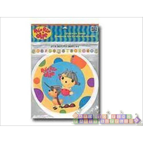 Rolie Polie Olie Celebration Happy Birthday Plastic Strong Banner / NEW - 1