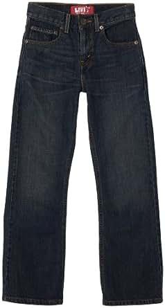 Levi's Big Boys' 527 Boot Cut Jean, Rusted Rigid,8 Regular